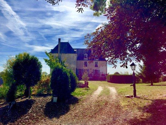 La Celle-Guenand, Fransa: Prenez le temps de voir le château et son parc situé juste à côté.