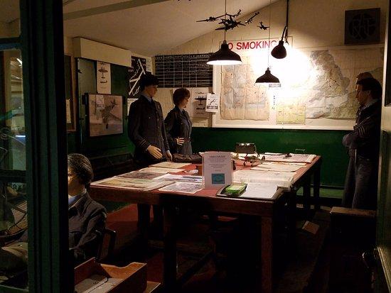 Clapham, UK: Various Exhibits
