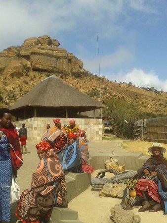Bethlehem, Afrika Selatan: яркие наряды
