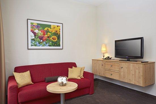 Sofaecke in der Suite Spiessberg vom H+ Hotel & SPA Friedrichroda