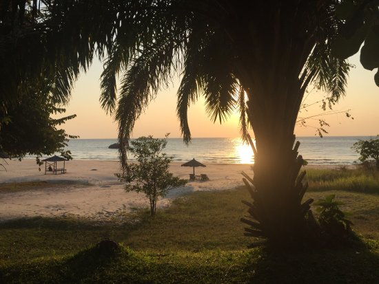 Chintheche, Malawi: View from the campsite