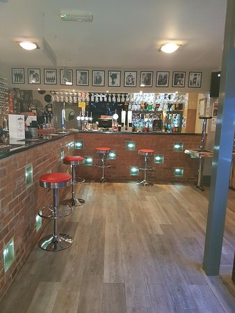 Culcheth, UK: Liberty's Gin Bar selling more than 120 Gins for every taste