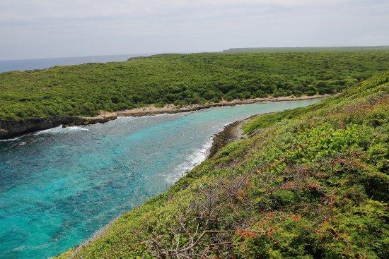 Anse-Bertrand, Guadalupe: Des couleurs qui donne envies de se baigner!