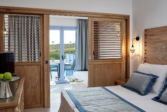 Family Room With Sharing Pool Picture Of Mitsis Rodos Village Beach Hotel Spa Kiotari Tripadvisor
