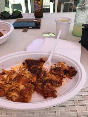 San Giuliano a Mare, Ιταλία: lasagna