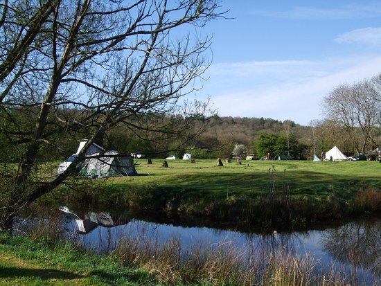 Shipston on Stour, UK: Our campsite in Autumn