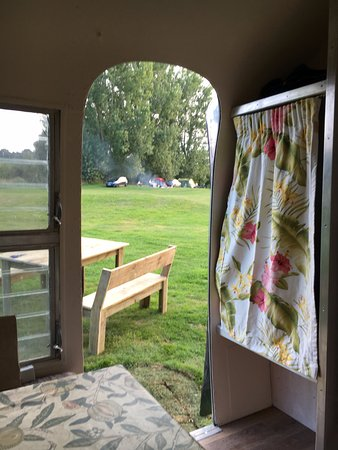 Shipston-on-Stour, UK: View form the Airstream Ana
