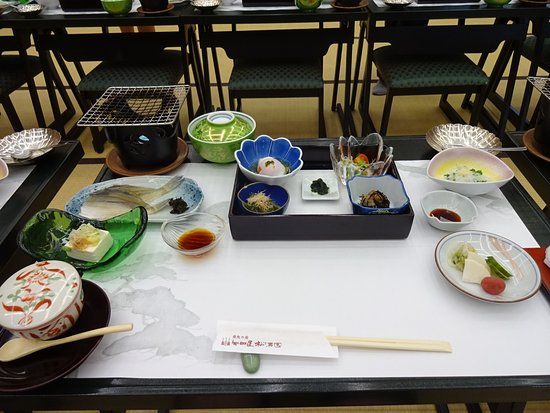 Yataya Shotoen: 朝食