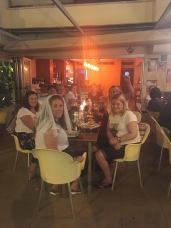 mocubar hen doo food was awesome in this place thank you xx