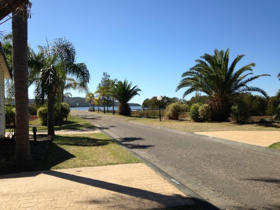 Karuah, Australia: Our view from Villa 10; near the jetty.
