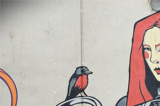 Melbourne Street Tours: Fairy tale or anime- like illustration