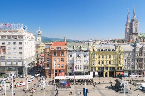 Window View - Picture of Hotel Dubrovnik, Zagreb - Tripadvisor