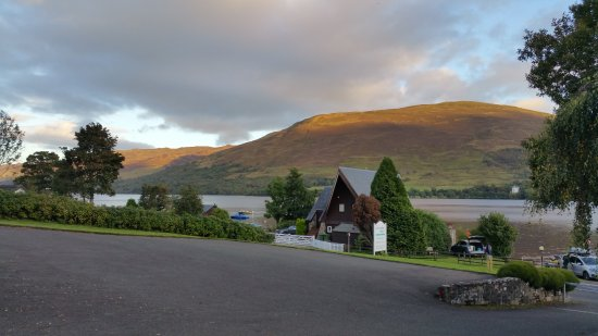 Lochearnhead, UK: View to the West