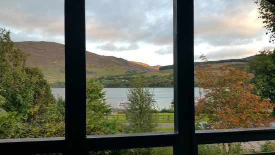 Lochearnhead, UK: View from the Living Area