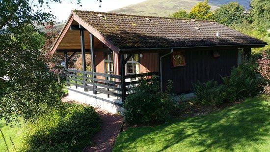 Lochearnhead, UK: The lodge next door.