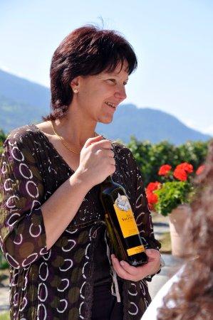 Sierre, Zwitserland: Dégustation de vin