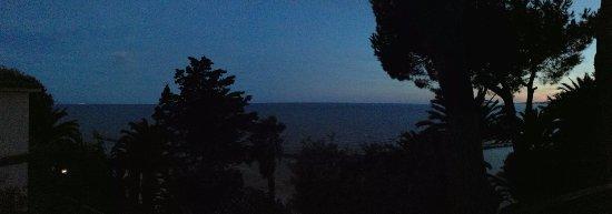 Grande Albergo Miramare: Vista mare dalla camera