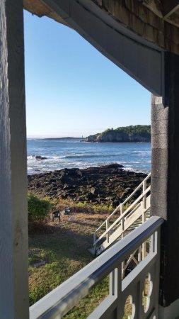 Peaks Island, ME: Veranda view