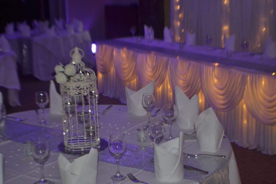Our Beautiful Wedding Reception Room The Cromwell Suite Picture