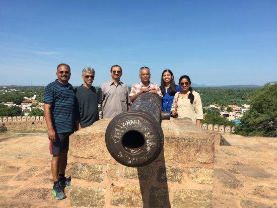 Thirumayam Fort Photo