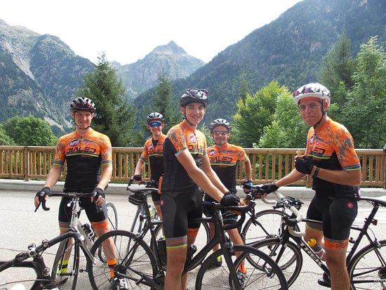 Pyrenees-Orientales, Prancis: Cycling club trip