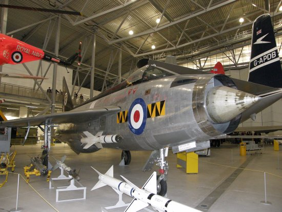 Даксфорд, UK: English Electric Lightning