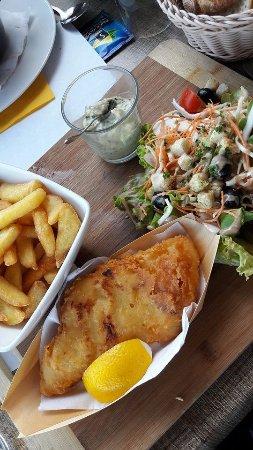 La Croisiere: Fish'n'chips, miam !