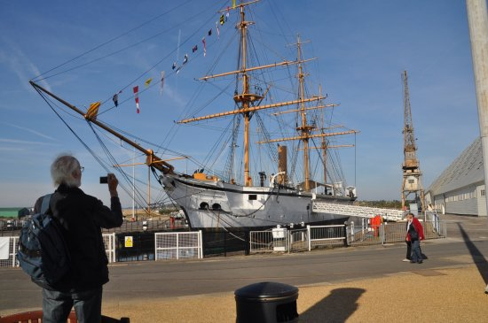 The Historic Dockyard Chatham: the old ship