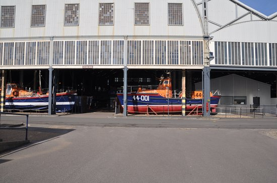 The Historic Dockyard Chatham: the collection of rescue boats
