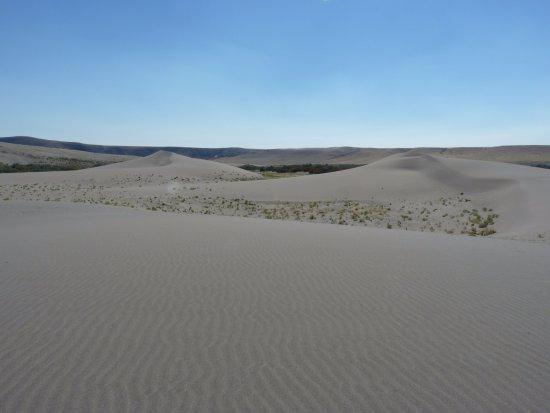 Bruneau, ID : Au milieu des dunes