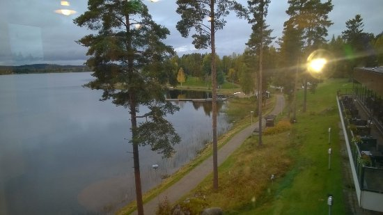 Laukaa, Finland: Näkymä käytävän ikkunasta
