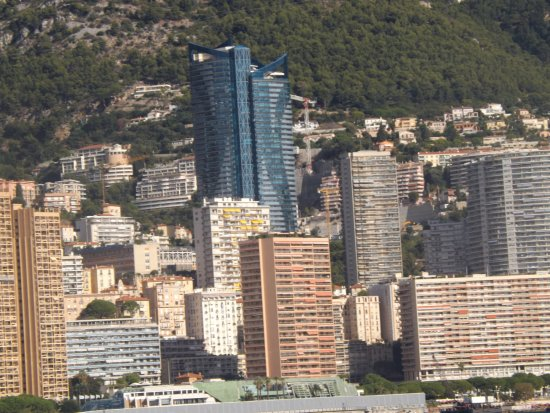 Trans Cote D'azur - The Coastal Ride: Monte Carlo from the boat