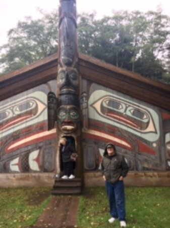 Totem Bight State Historical Park: Clan house