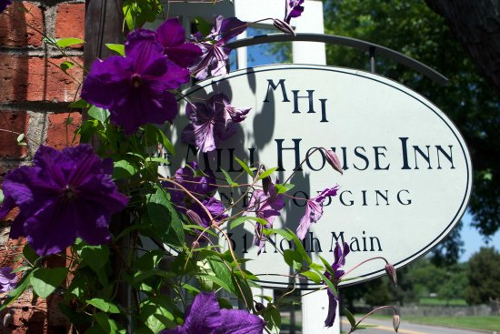 Mill House Inn Sign Summer