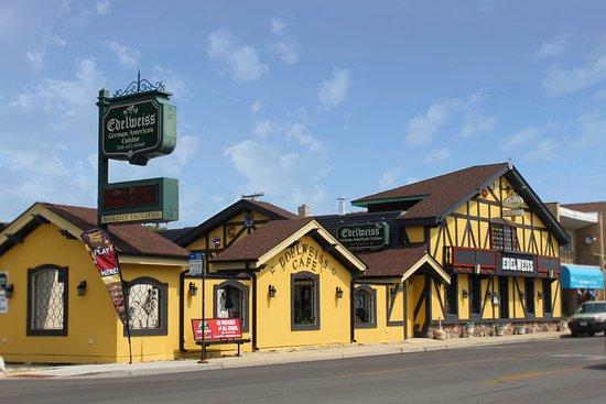 Norridge, IL: Outside of restaurant
