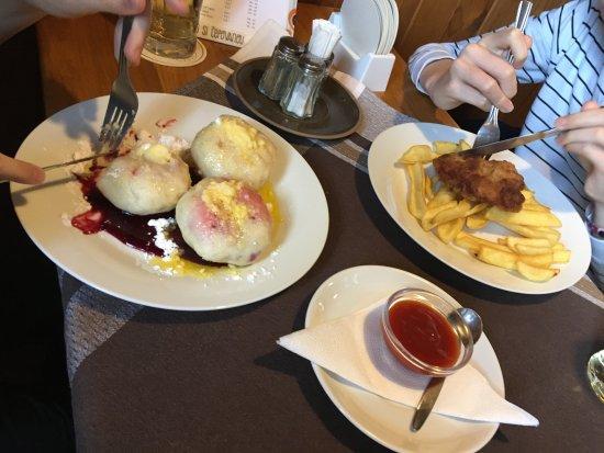 Vsetin, Czech Republic: Chutnalo nám