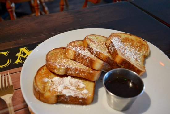 Miramichi, Canadá: House made french toast? YEUP!
