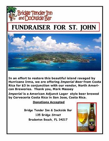 Bridge Tender Inn: St. John Fundraiser after Irma