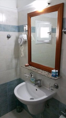 Alkyon Apartments & Villas Hotel: Room Kirke B1 Sink