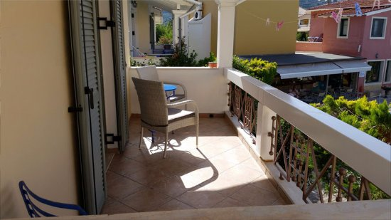 Alkyon Apartments & Villas Hotel: Room Kirke B1 Balcony
