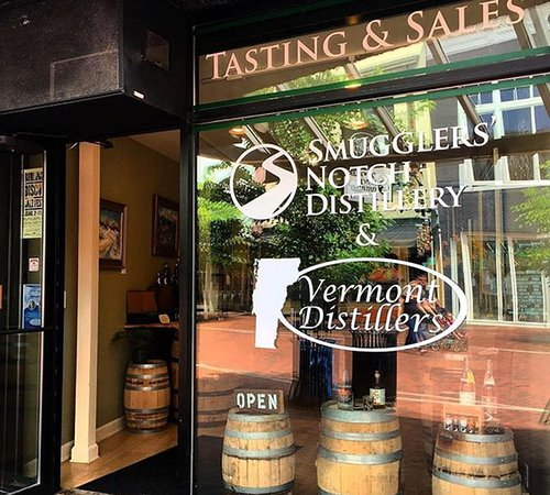 Vermont Distillers and Smugglers' Notch Distillery Tasting Room