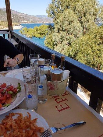 Limnionas, Grécia: με πολύ ωραία θέα