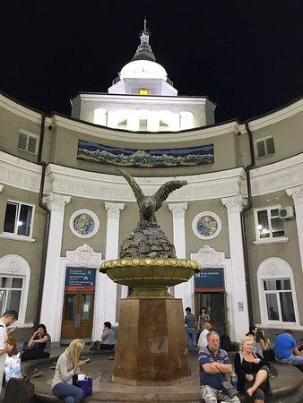 Mineralnye Vody, Rusland: Железнодорожный вокзал