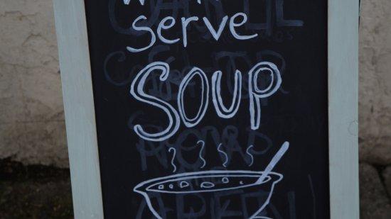 Auchtermuchty, UK: We Serve soups - all homemade!