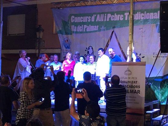 Primer premio del mejor allipebre de la illa del Palmar 2017