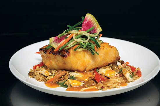 Truluck's Seafood, Steak and Crab House: Miso Glazed Seabass