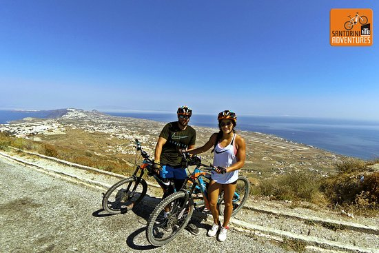 Santorini MTB Adventures: At the top