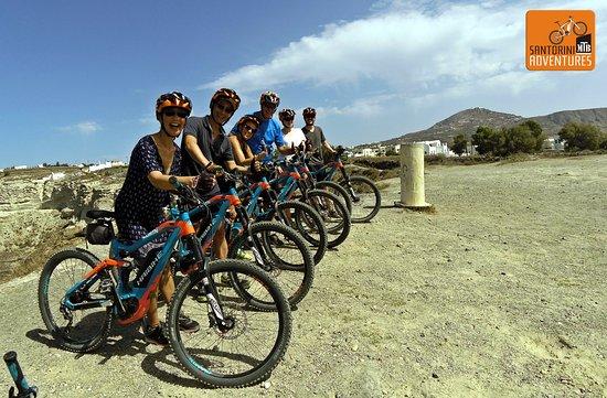 Santorini MTB Adventures: Caldera View