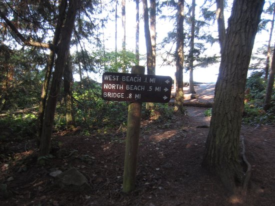 Oak Harbor, WA: Directions to beaches from Campground
