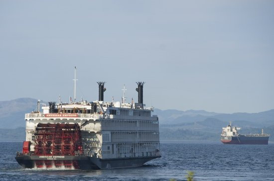 Astoria Is A Major Port For Cruise Ships Including This - Can you take a steamer on a cruise ship